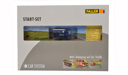 car system Faller Start set Saviem